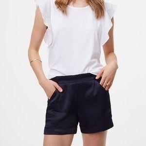 Loft Sateen fluid shorts